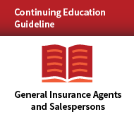 Continuing Education Guideline Program for General Insurance Agents and Sales